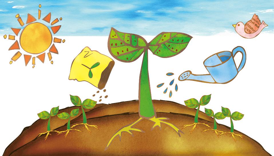 神戸幼稚園 幼稚園の生活イラスト