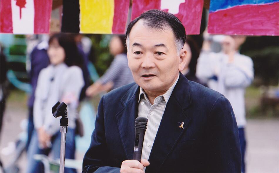 理事長 鈴木一光写真