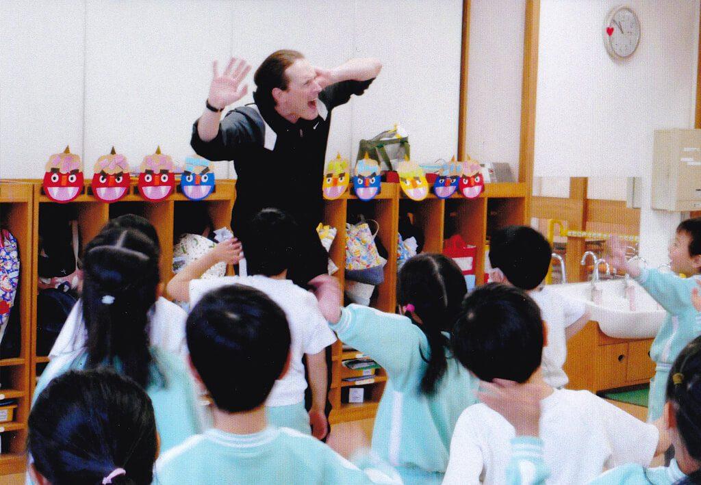 神戸幼稚園課内保育英語の写真