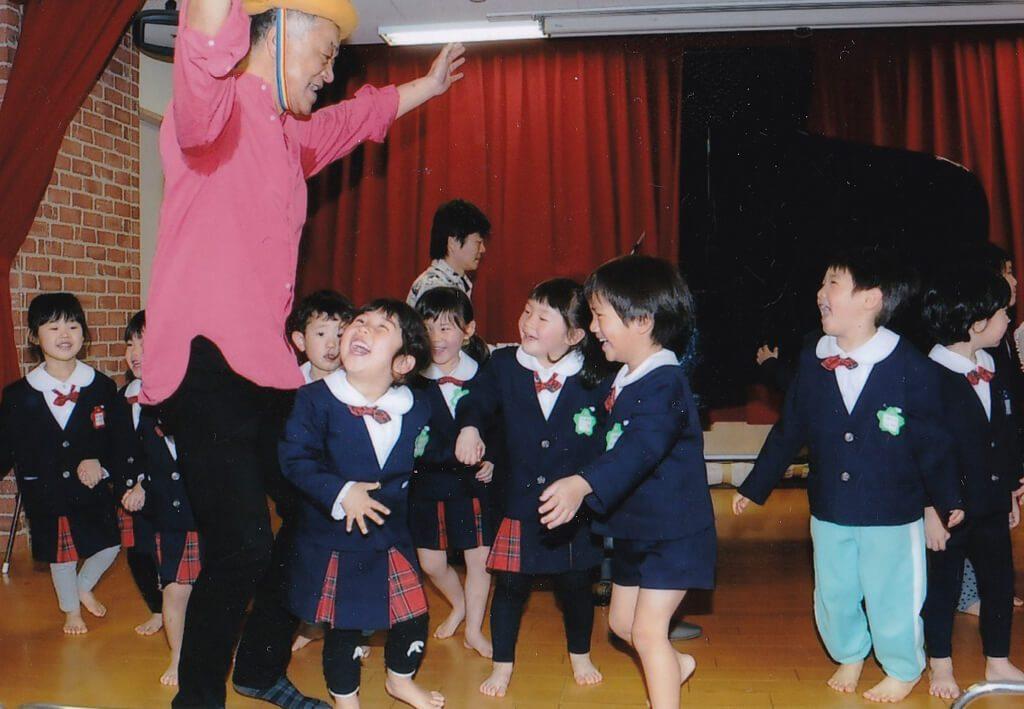 神戸幼稚園課内保育リズムの写真
