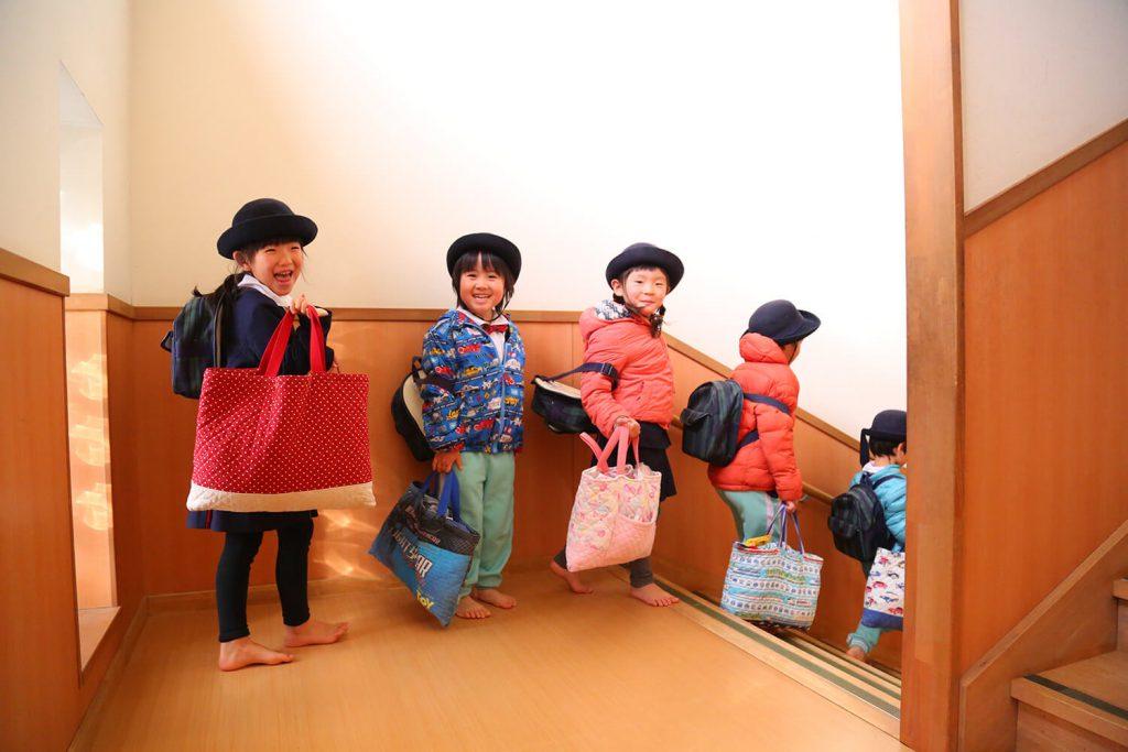 降園時の子どもたち
