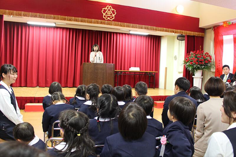 平成31年度 神戸幼稚園 入園式